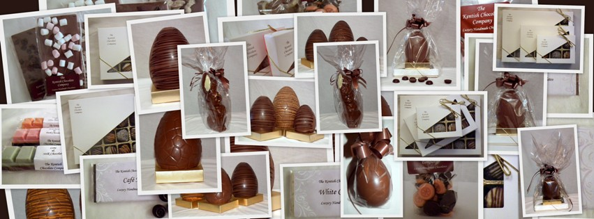 A range of Kentish Chocolate products