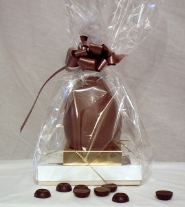 Easter egg with a box of 12 Kentish Chocolates