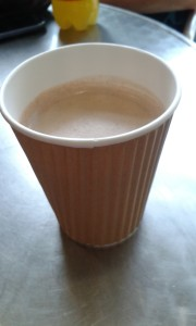 Mote Park Cafe hot Chocolate