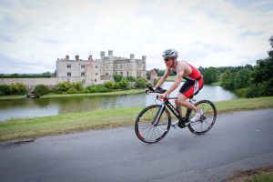 Racing past Leeds Castle