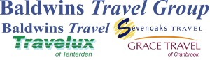 Baldwins Travel Group 5 logos