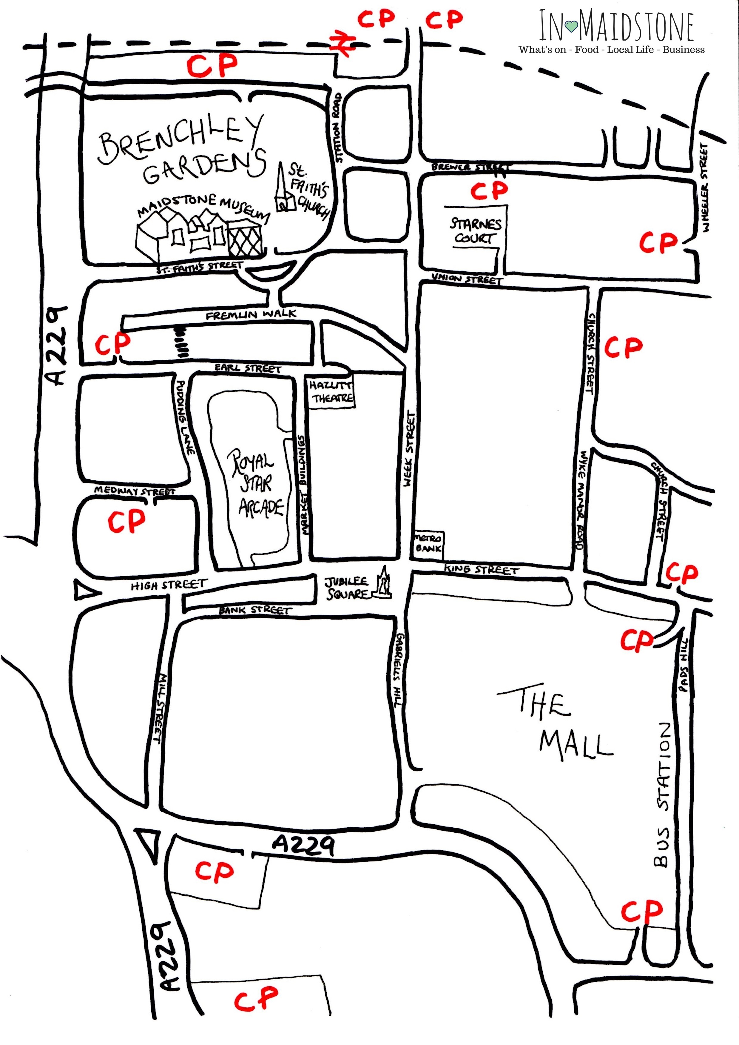 car-park-maidstone-town-centre-map