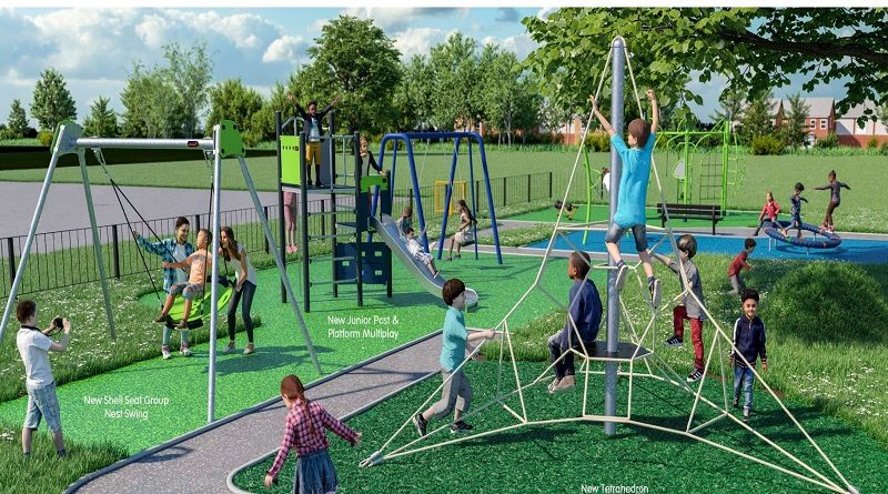 Parkwood Play Area – Putting  Fun back into 2020.