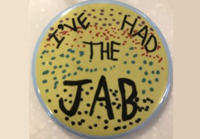 Buy 7 year old Alice's 'I've Had the Jab!' Badge for Charity.
